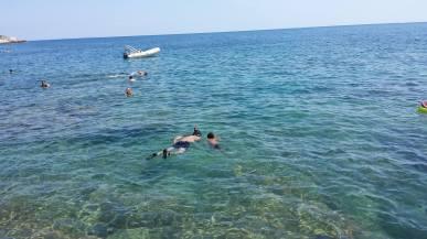 Snorkelling in Croatia https://selimfamily.com/2014/08/27/our-new-favourite-destination-in-europe-croatia/