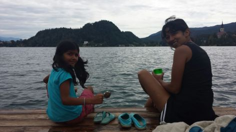 Lake Bled, Slovenia https://selimfamily.com/2014/08/25/swimming-in-emerald-green-waters-beautiful-lake-bled-slovenia/